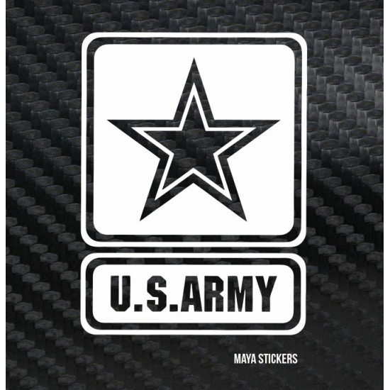 Custom sizes and colors · us army logo decal sticker for cars bikes laptop custom sizes and colors