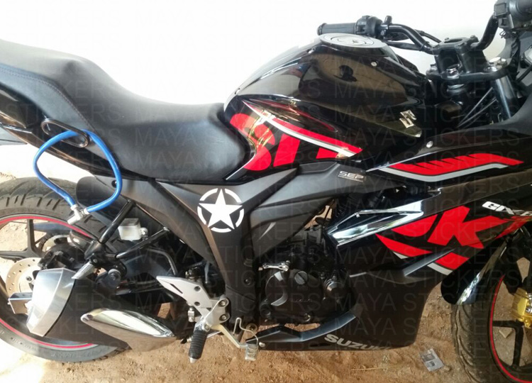Suzuki Gixxer Sticker Works